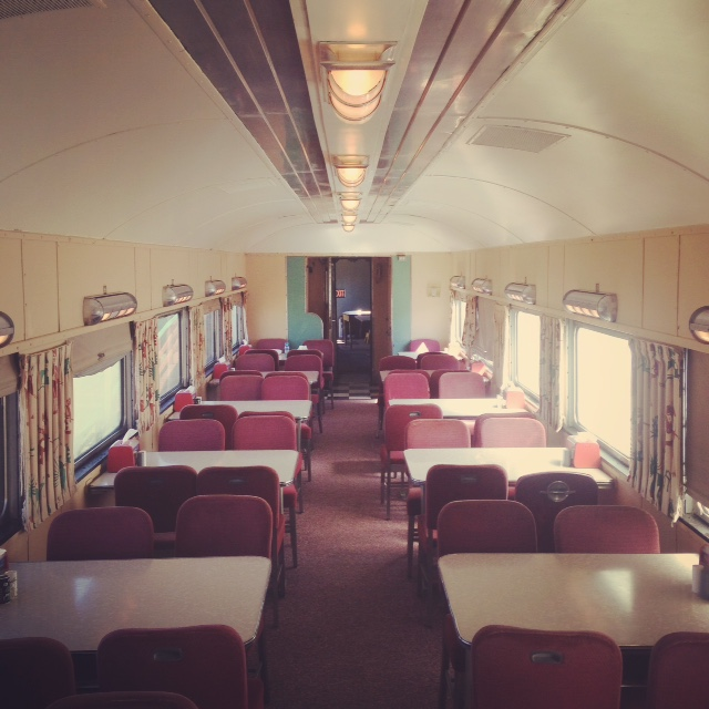My very own train car.