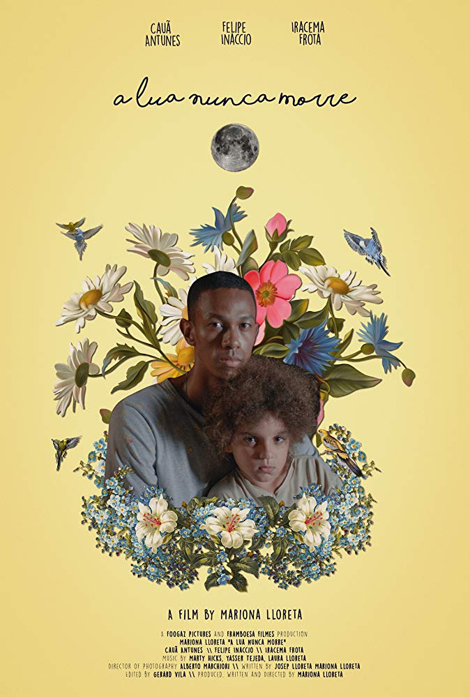 A Lua Nunca Morre  (2018)  (The Moon Never Dies)   directed by  Mariona Lloreta  music by Marty Hicks  short film USA/Brazil