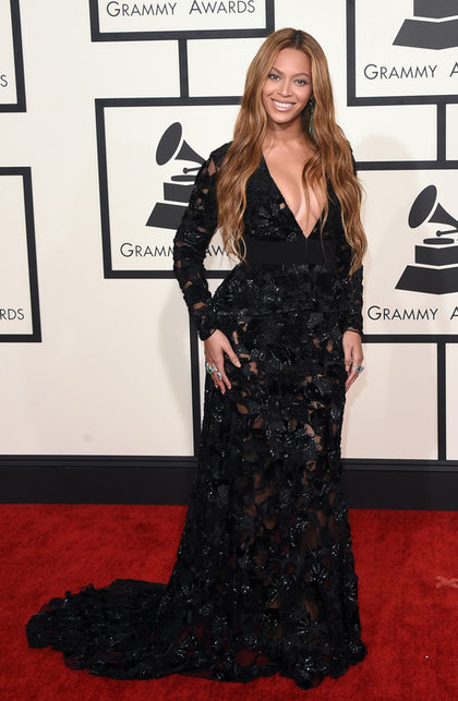 I know, I know but we have seen this same look from Queen Bey 100 times! Same style of dress, same jewel toned jewelry, and I looking for a change in her hair at some point. So yes, although beautiful I need something new and fresh from Beyonce'. Who were some of your Grammy favorites?      Trying to Live in my Dreams,    KLBossy