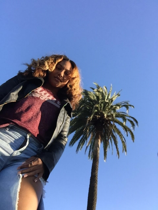 Jacket: The Limited; Tee: Target; Jeans: Lucky Brand