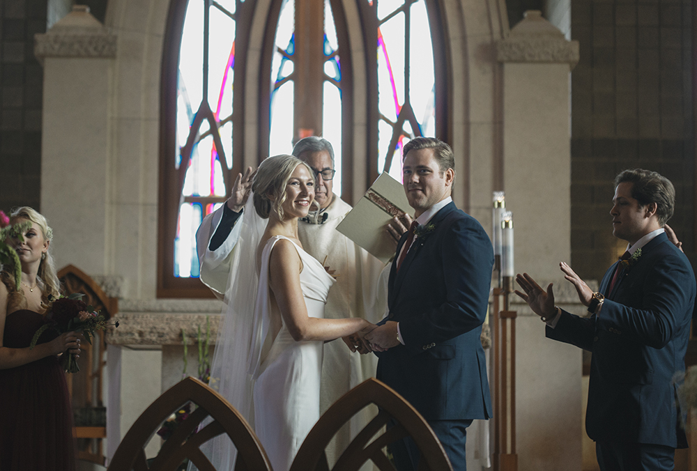 St Marys Cathedral Wedding by Alixann Loosle