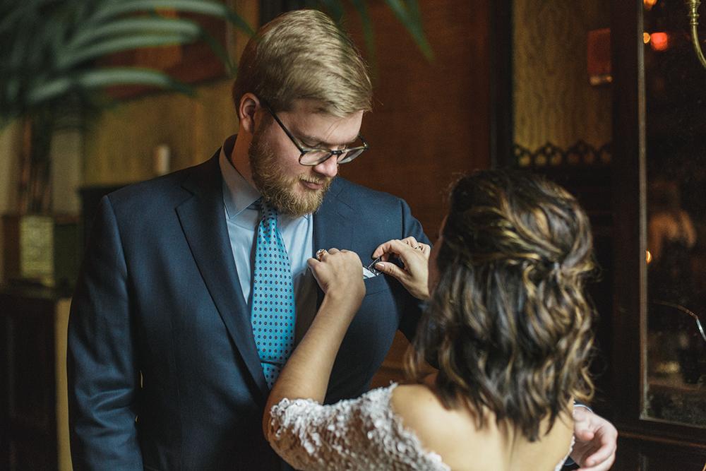 The Jane Hotel Wedding by Alixann Loosle