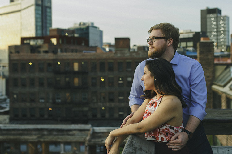NYC Apartment Engagements by Alixann Loosle