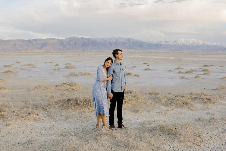 Utah Desert Engagements by Alixann Loosle