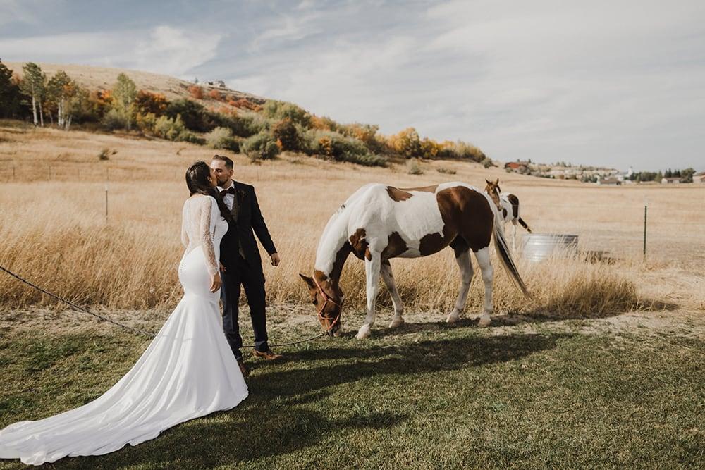 Conestoga Ranch Glamping Wedding by Alixann Loosle