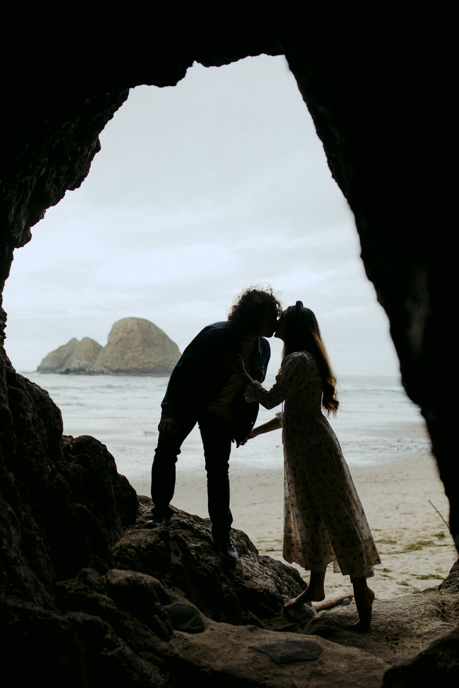 Evelyn + marcello - Oceanside, Oregon