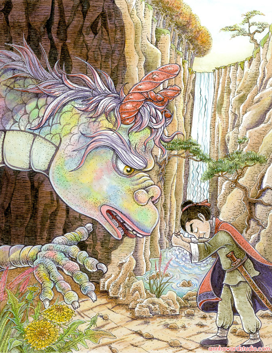 Master Chen meets the dragon.