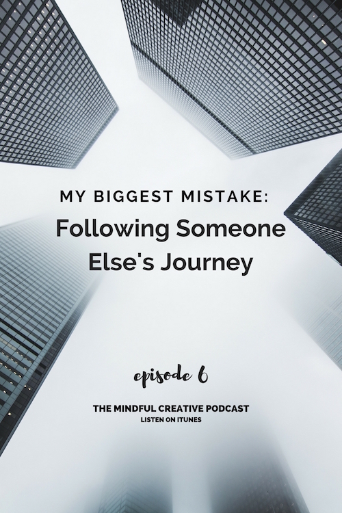 Do you ever feel like there is something missing in your creative journey? Do you constantly look for inspiration from others in order to take action? Click to listen to Episode 6 of The Mindful Creative Podcast.