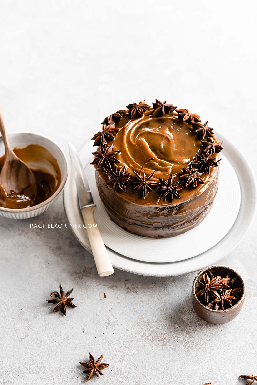 Rachel Korinek   Food Photographer Spiced Sticky Date Cake  Click to check out my latest food photography projects.  #twolovesstudio #beautifulcuisine #foodbloggerpro #foodphotography #learnfoodphotography #foodblogger #learnphotography #foodstyling #lightingtips #naturallight #foodphotographer