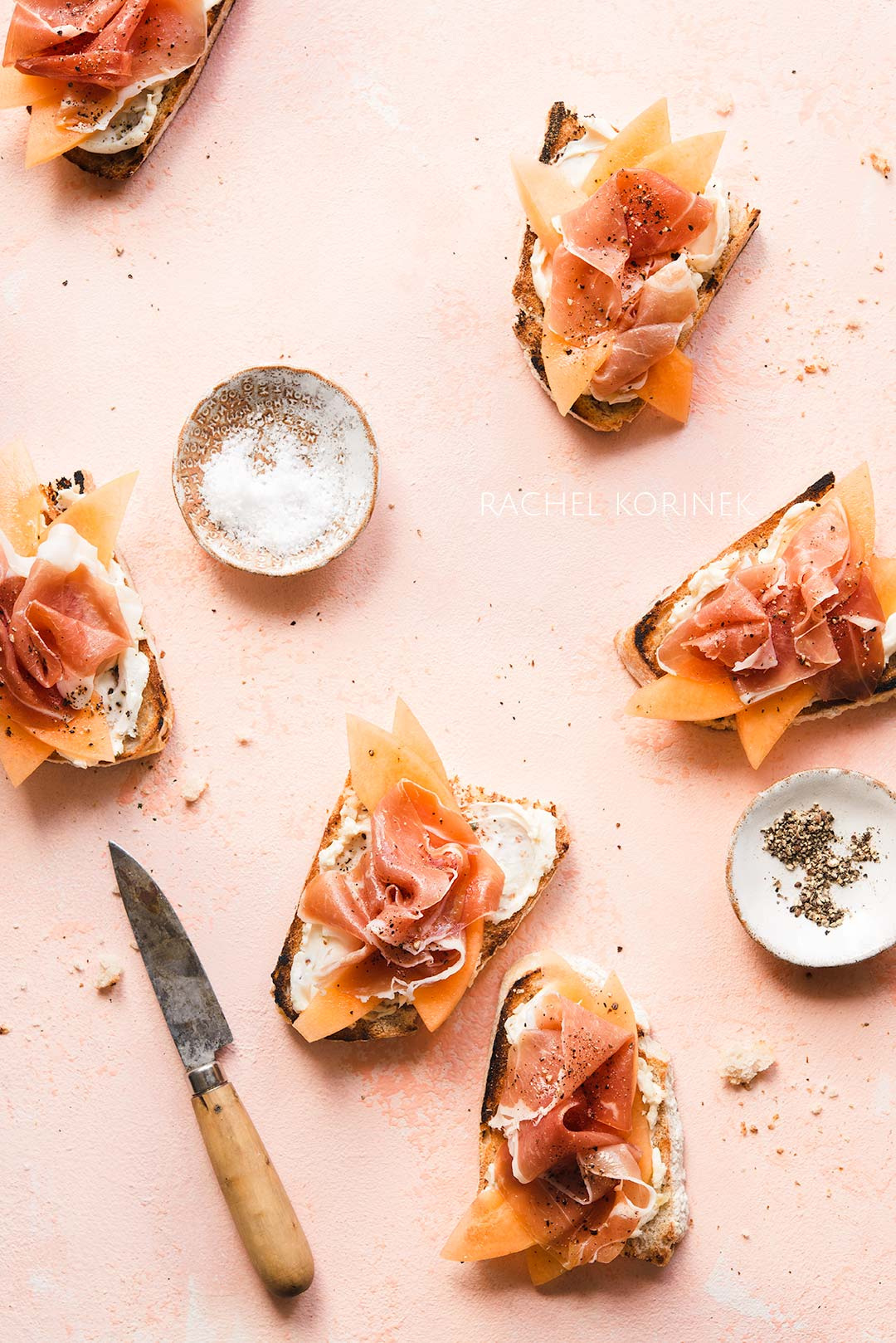 Rachel Korinek Food Photographer | Prosciutto Toast  Click to check out my latest food photography projects.  #twolovesstudio #beautifulcuisine #foodbloggerpro #foodphotography #learnfoodphotography #foodblogger #learnphotography #foodstyling #lightingtips #naturallight #foodphotographer