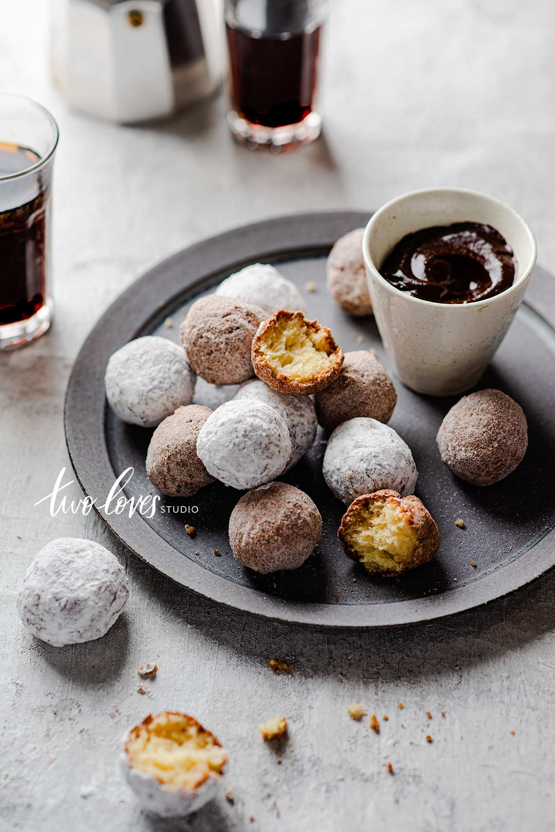Rachel Korinek Food Photographer | Donut Holes