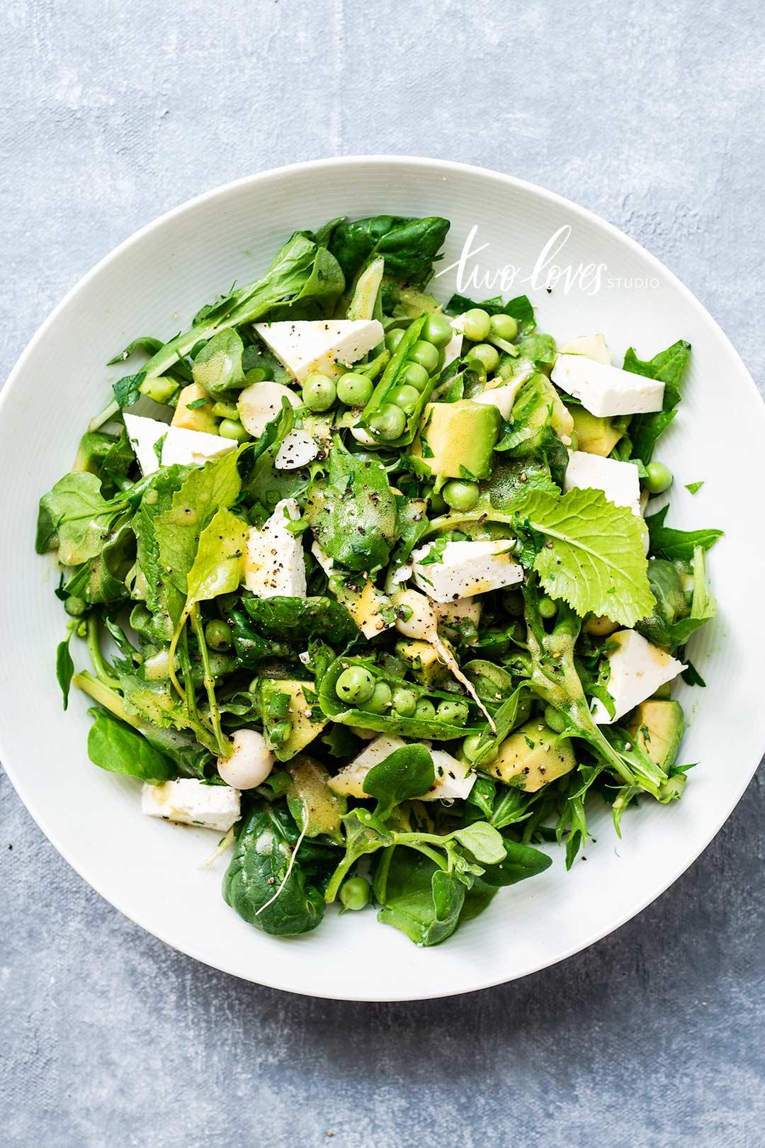 Rachel Korinek Food Photography | Green + White