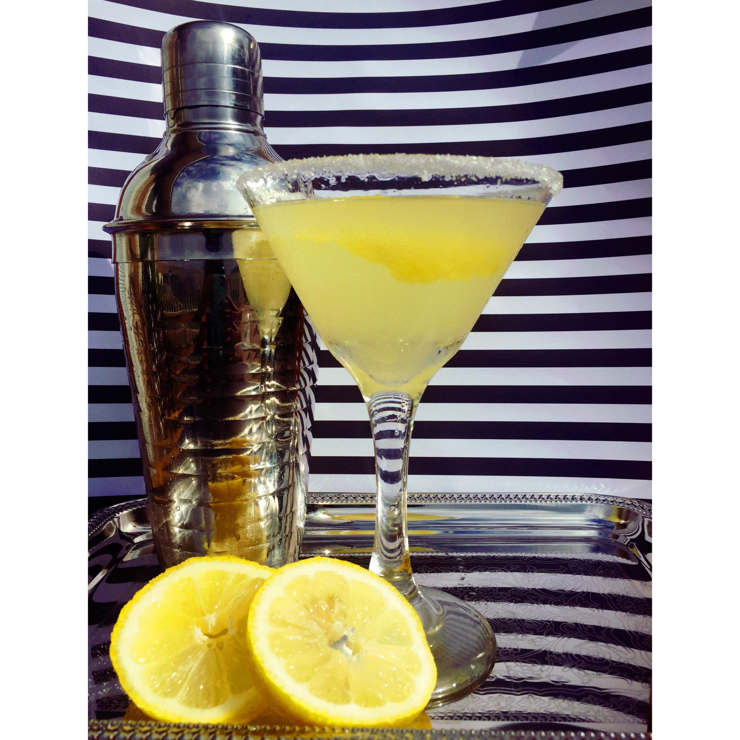 Lemon GinTini