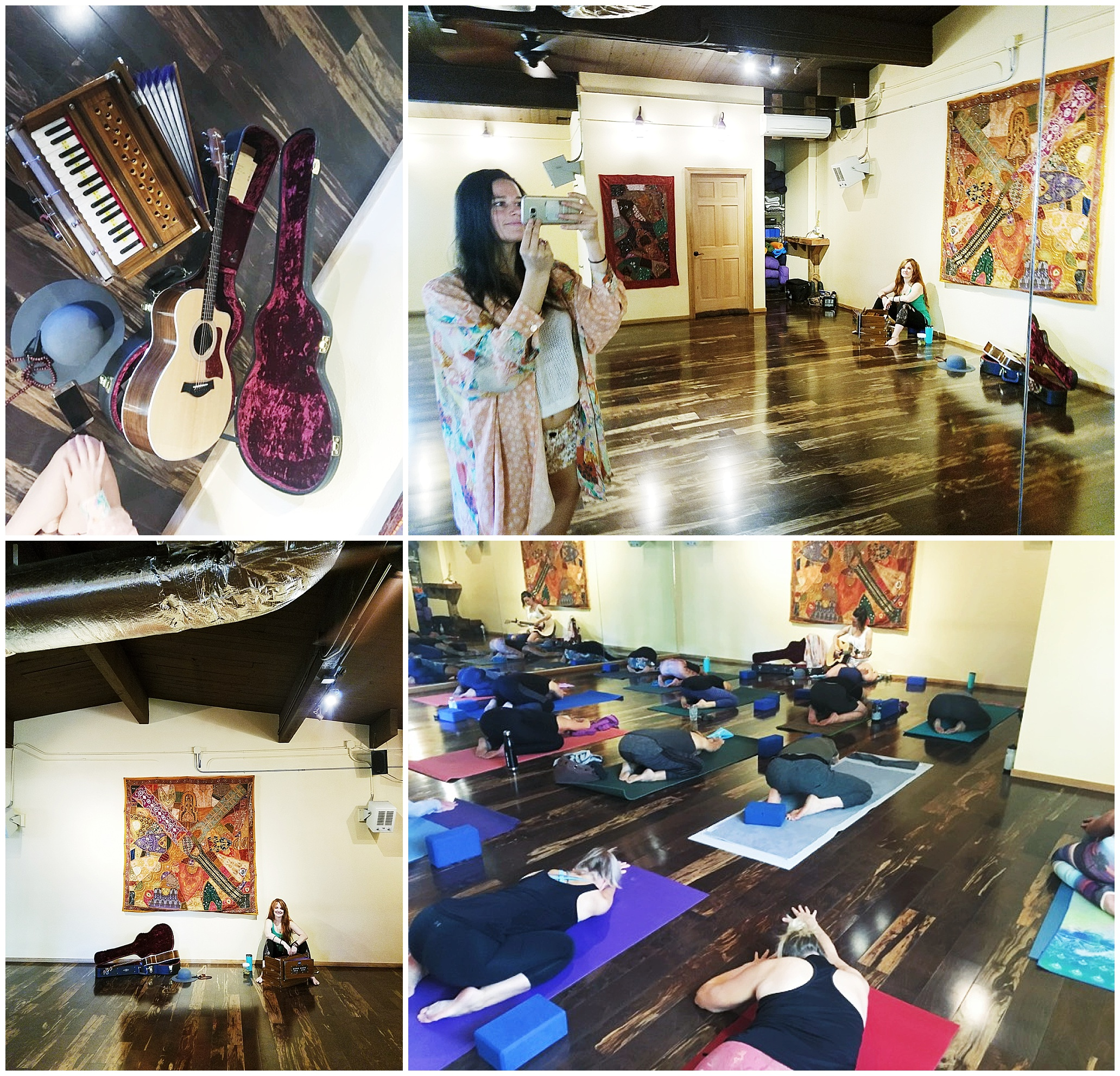 cha wilde - yoga music - josephine silverwolf - ignite dance and yoga studio north bend - harmonium - seattle wall tapestry