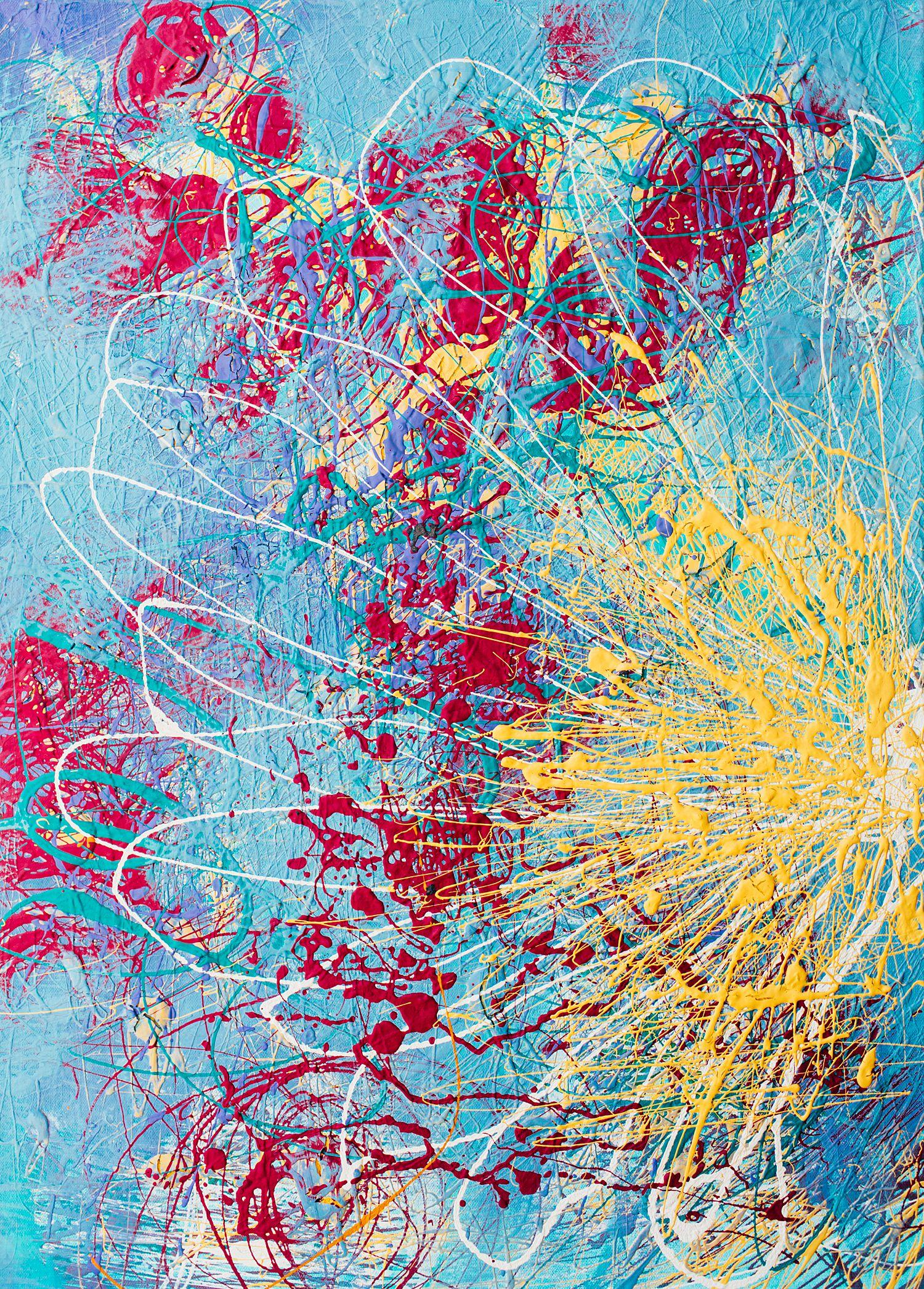Painting Acrylic & Latex on Canvas (2017)