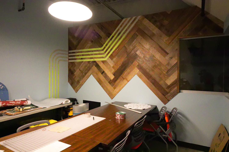 teak reclaimed wood wall office.jpg