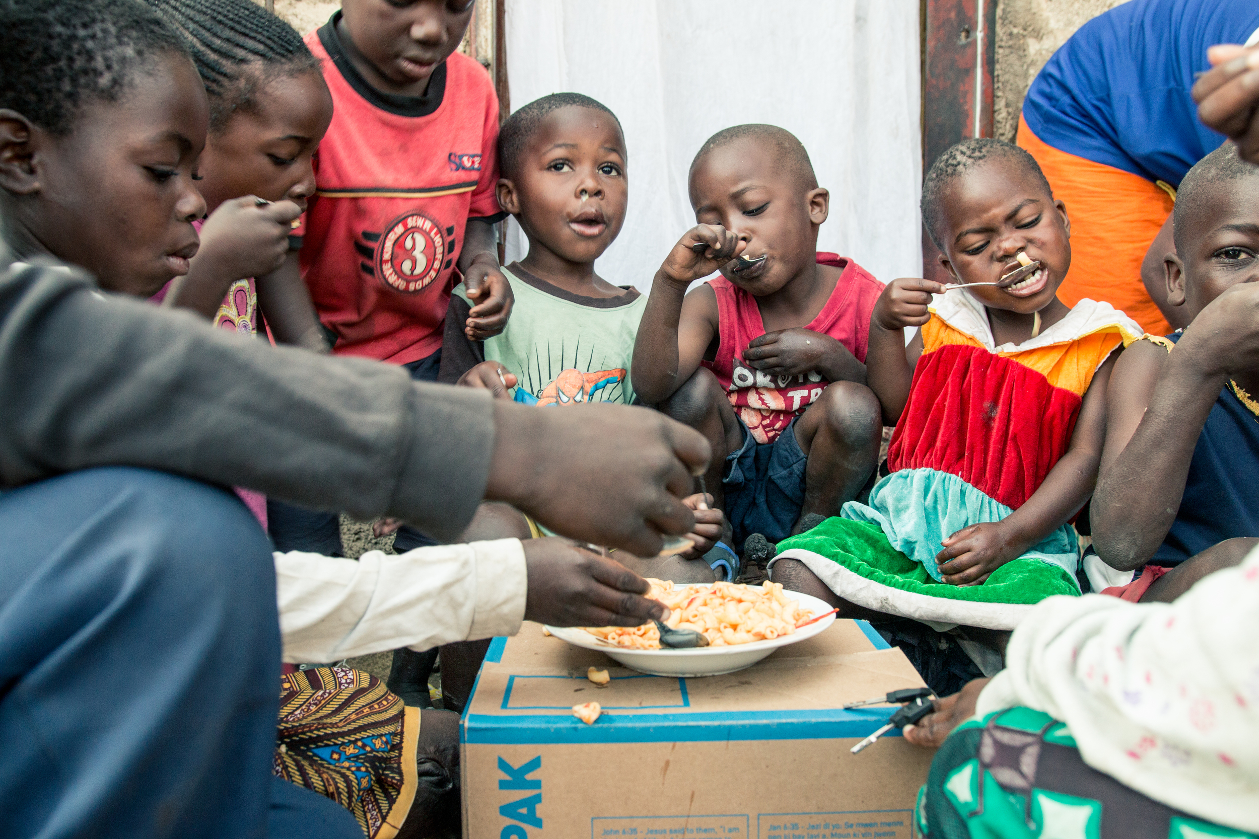 ZAMBIA: [Home Visit] I was reminded that generosity isn't contingent on wealth. People who have the least often give the most (Luke 21:1-4).Sarah prepared food and shared it with children from the community. We anticipated her feeding her family.. not her neighbors.