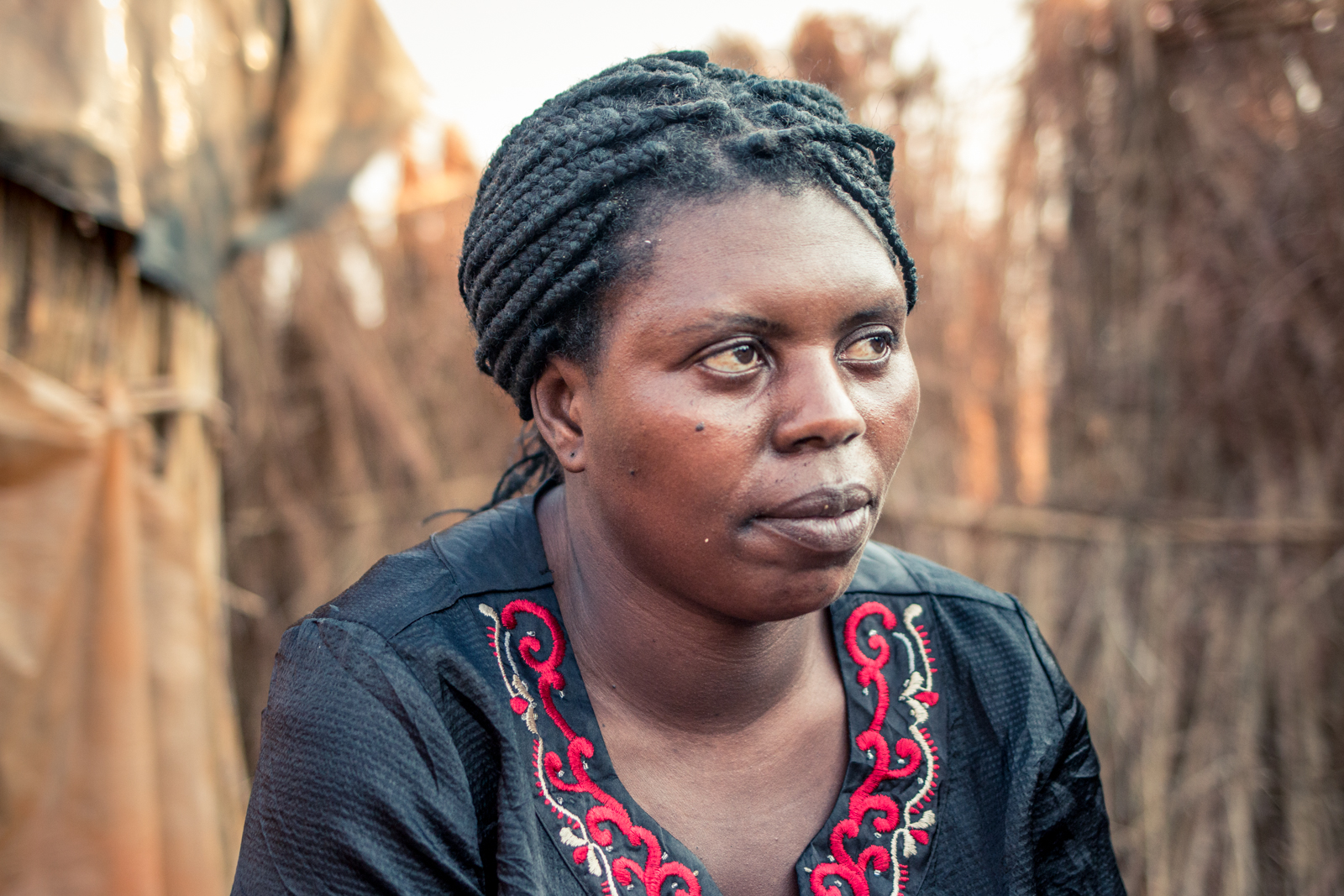 ZIMBABWE: [Home Visit] Patricia is a 37 year old single mother. She has 2 children a 15 year old daughter who has to live with and be taken care of by her brother in town, and a 21 year old son with cerebral palsy..
