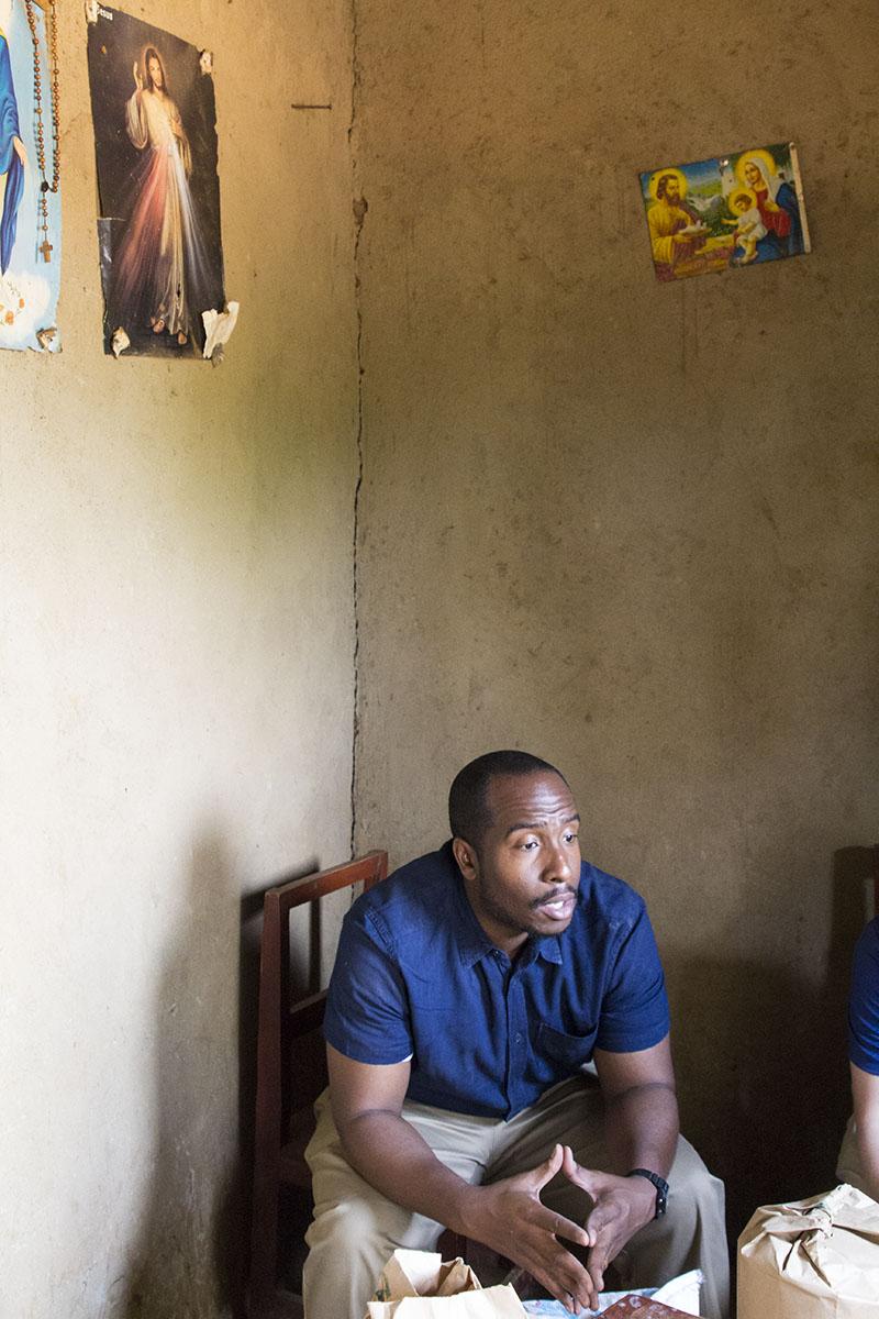 RWANDA: [Home Visit] Sharing the good news with Anastasie