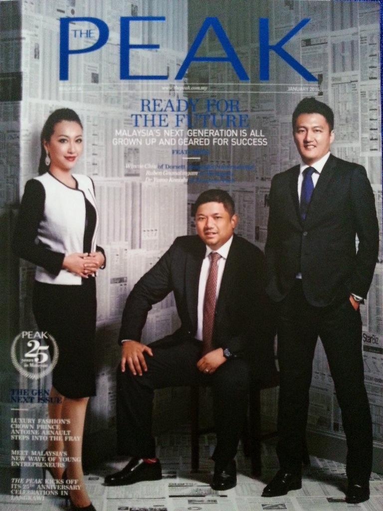 The Peak January 2014 Magazine Cover