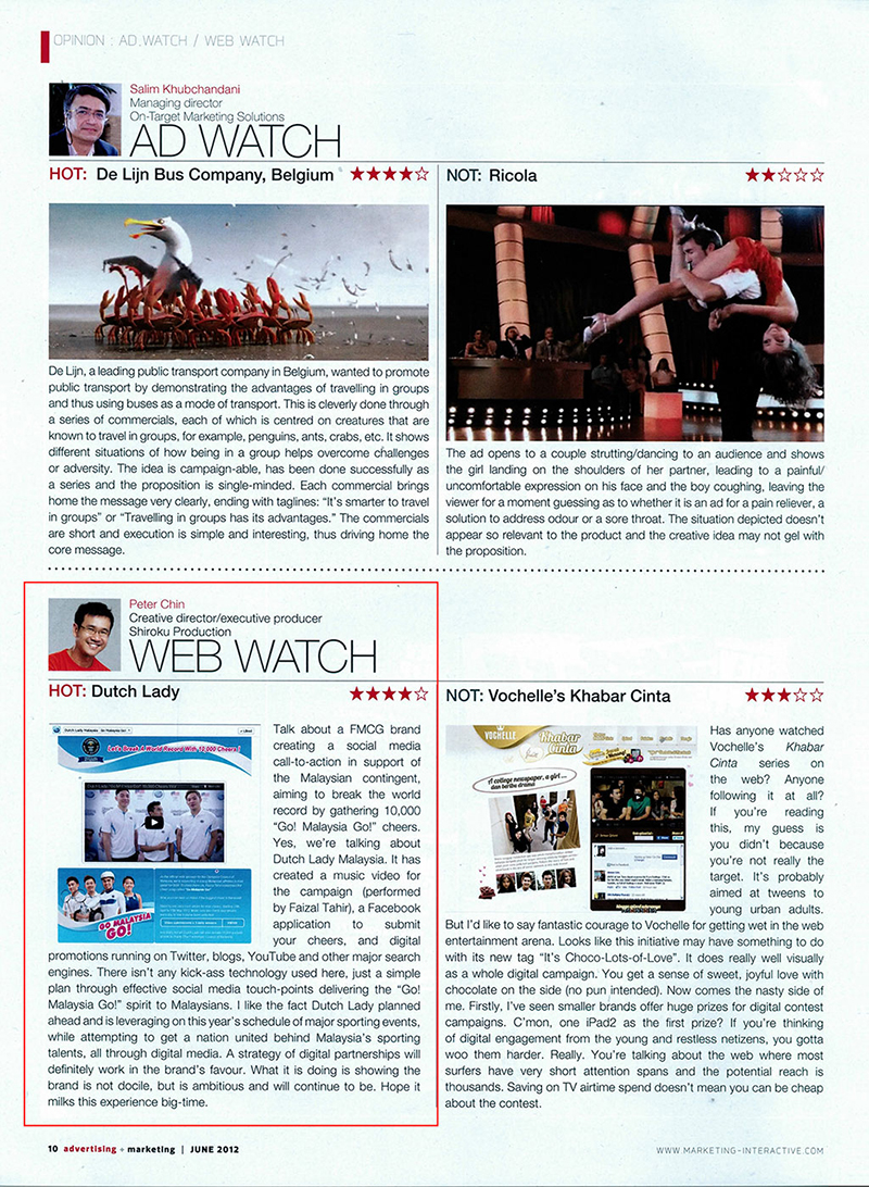 Advertising Marketing Malaysia 2012 issue June 2012 - page