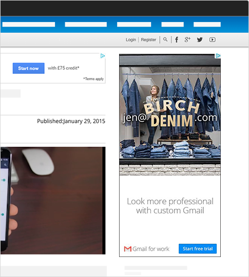Google AdWords Management | Display   A  ds