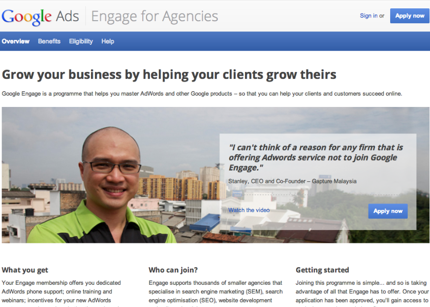 Google Engage for Agencies - Gapture
