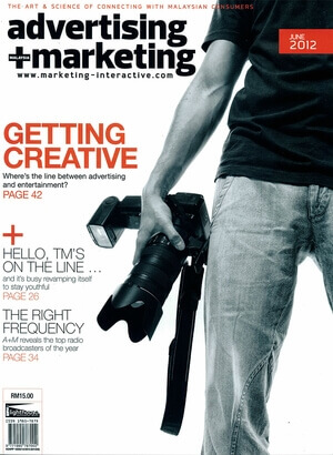 Advertising Marketing Malaysia 2012 issue June 2012