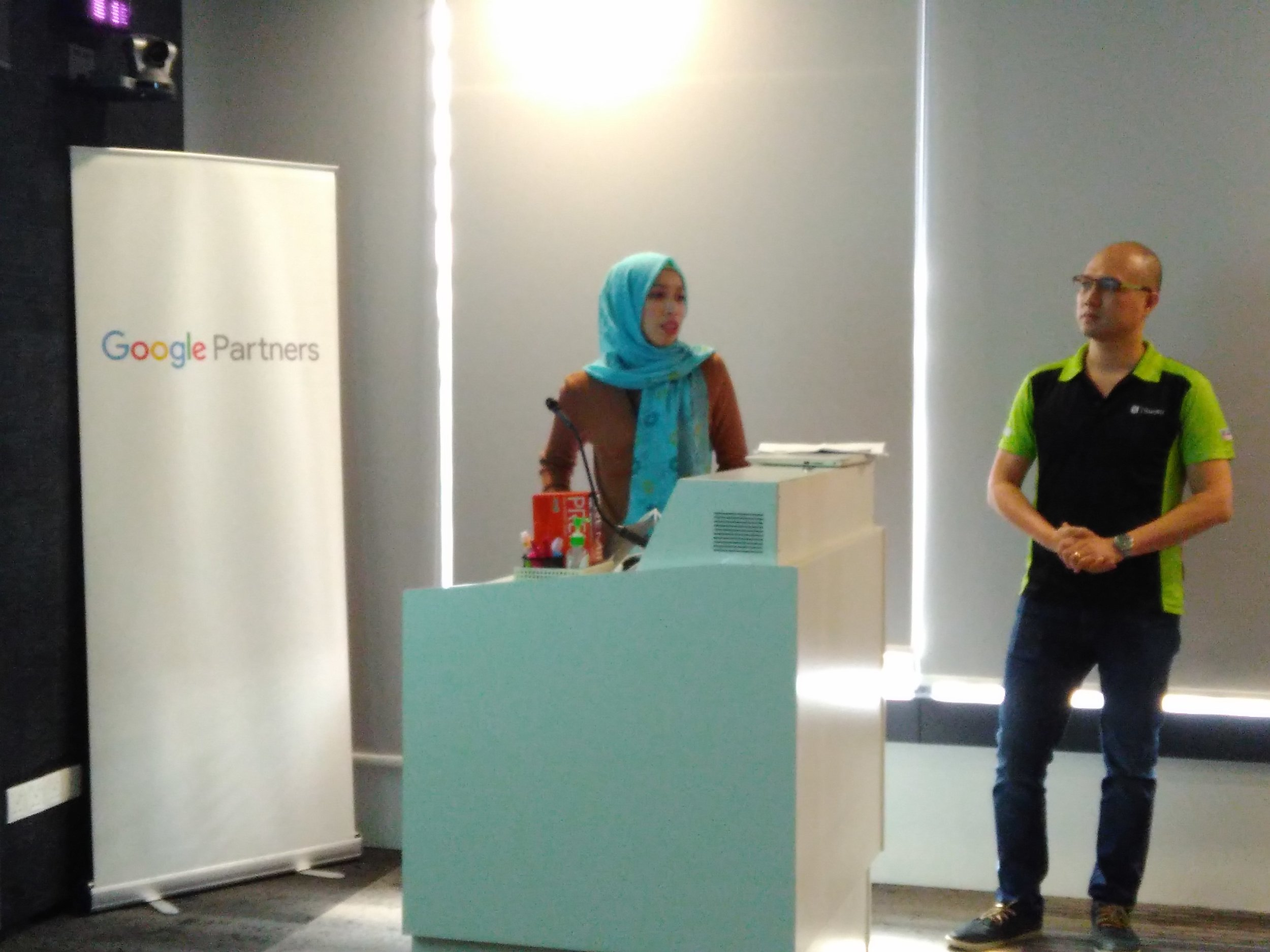 Google Malaysia's Agency Account Strategist, Norra Shamsuddin was also present at the event.