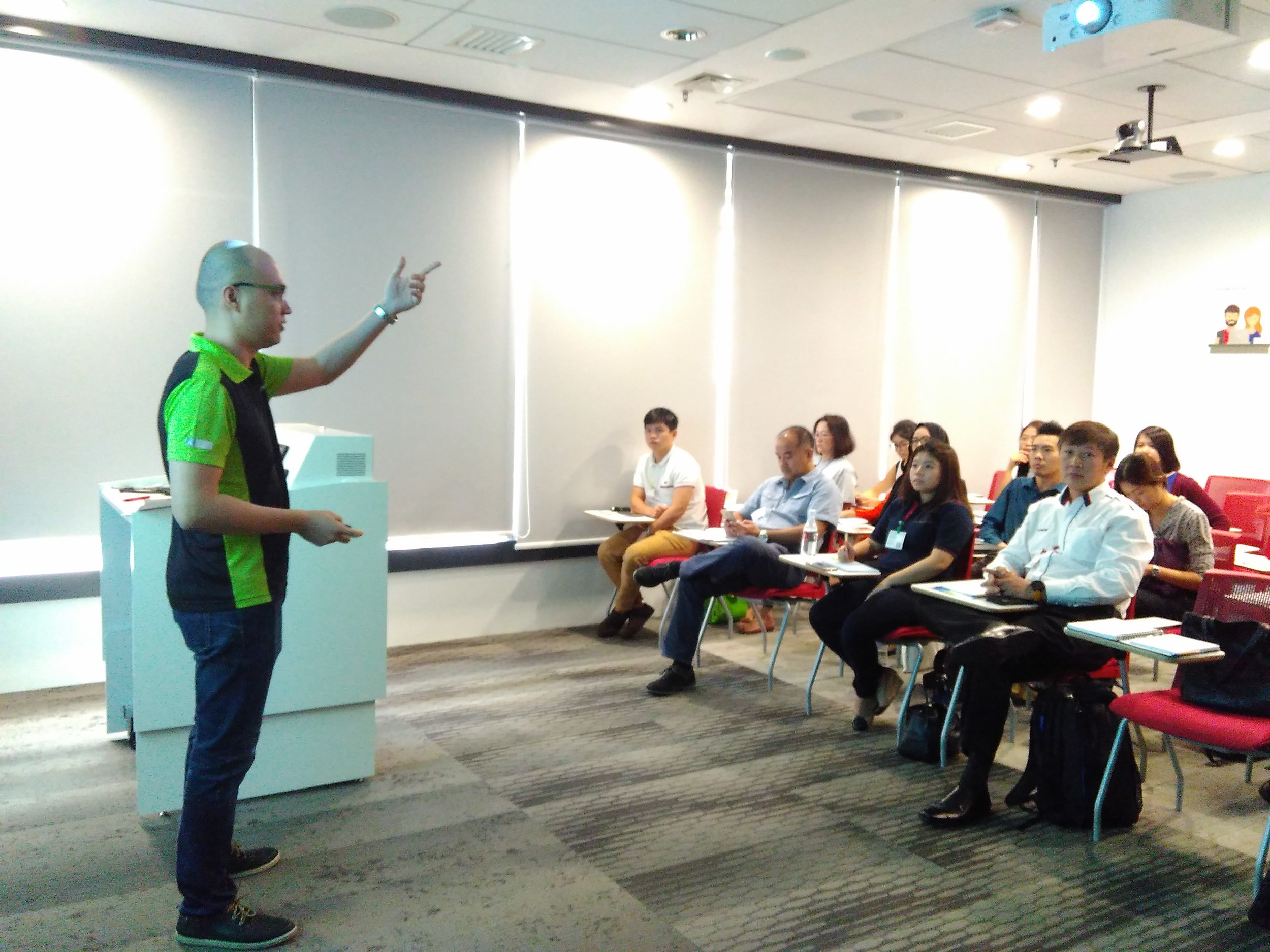 Google Partners Co-Pitching Event with Gapture® Malaysia Stanley Chee