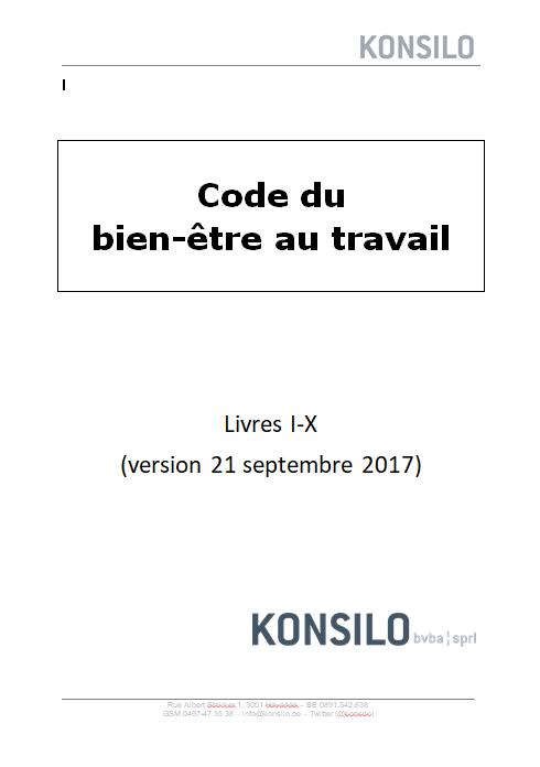 Code pour le bien-être au travail