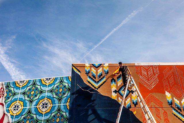@addfuel 🎂 for @brandedarts Maya Angelou Mural Festival