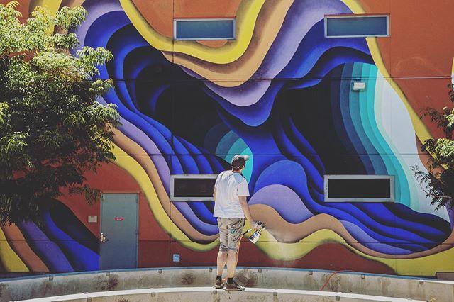@1010zzz for @brandedarts Maya Angelou Mural Festival