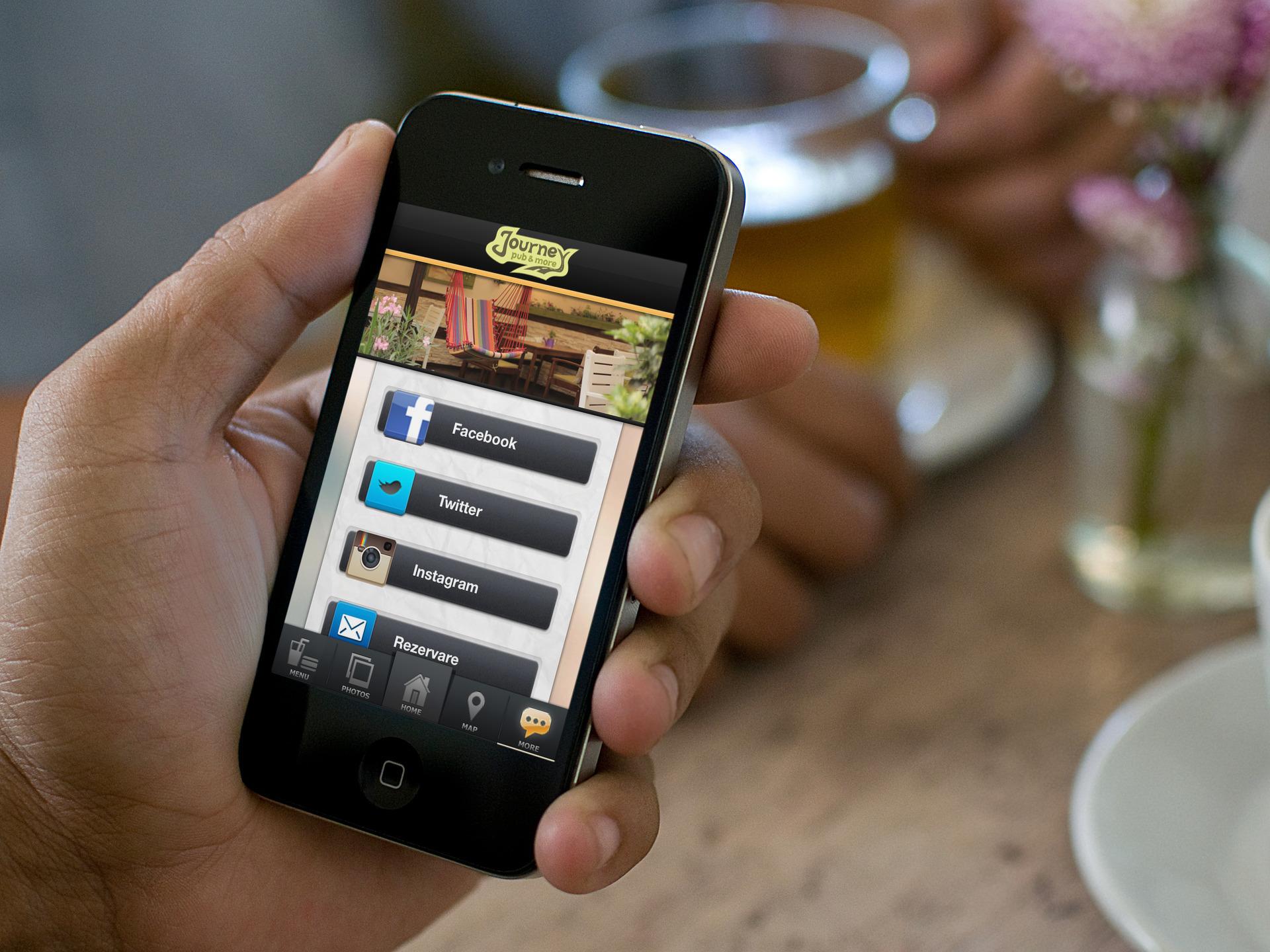 Journey Pub - iOS Application