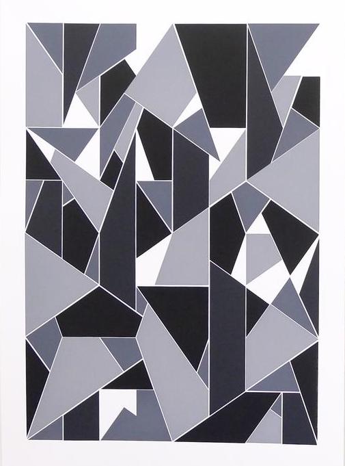 'Apophenia (Greyscale) #01', 2016