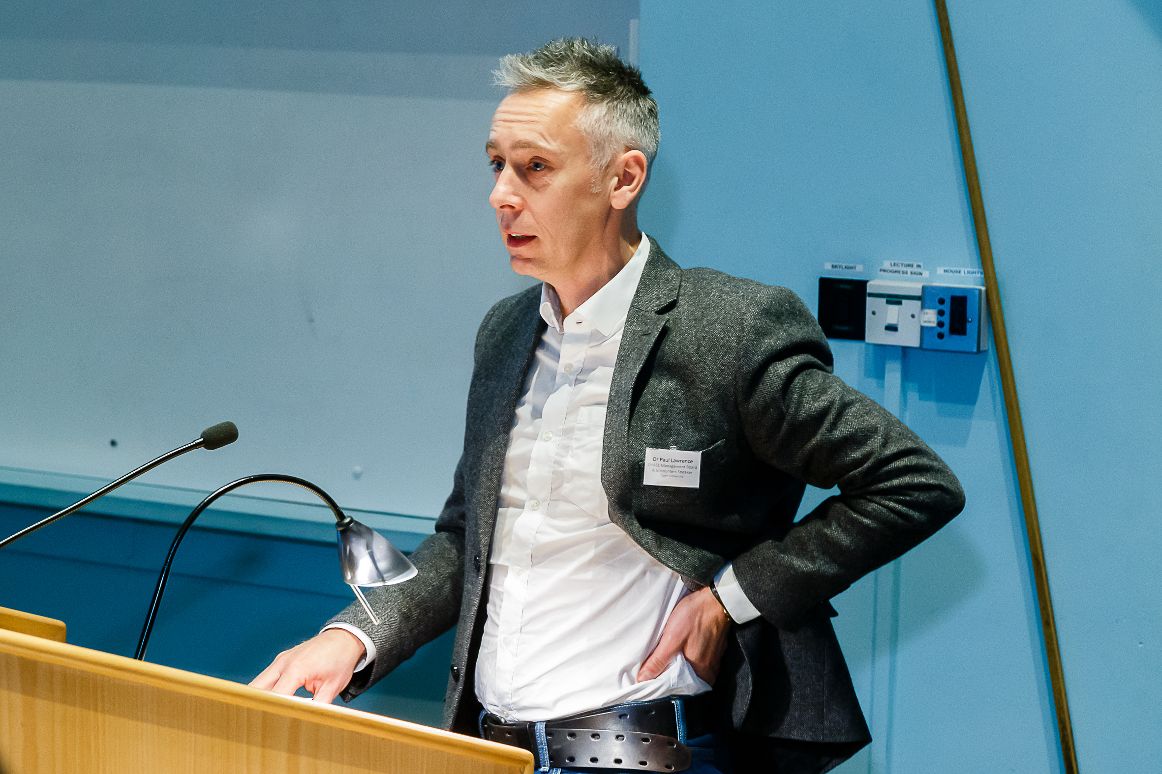 Dr Paul Lawrence - Open University