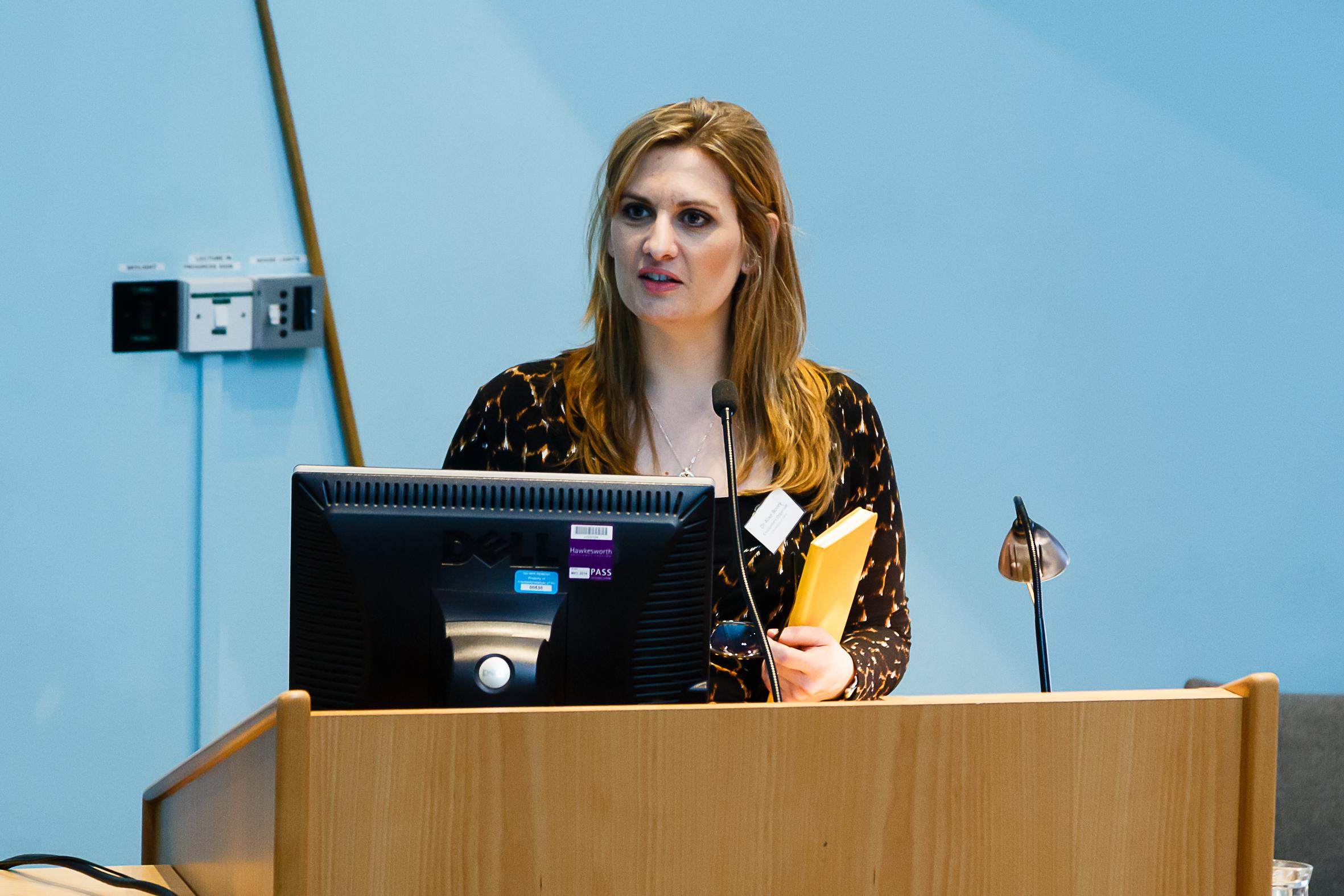 Dr Alixe Bovey - University of Kent