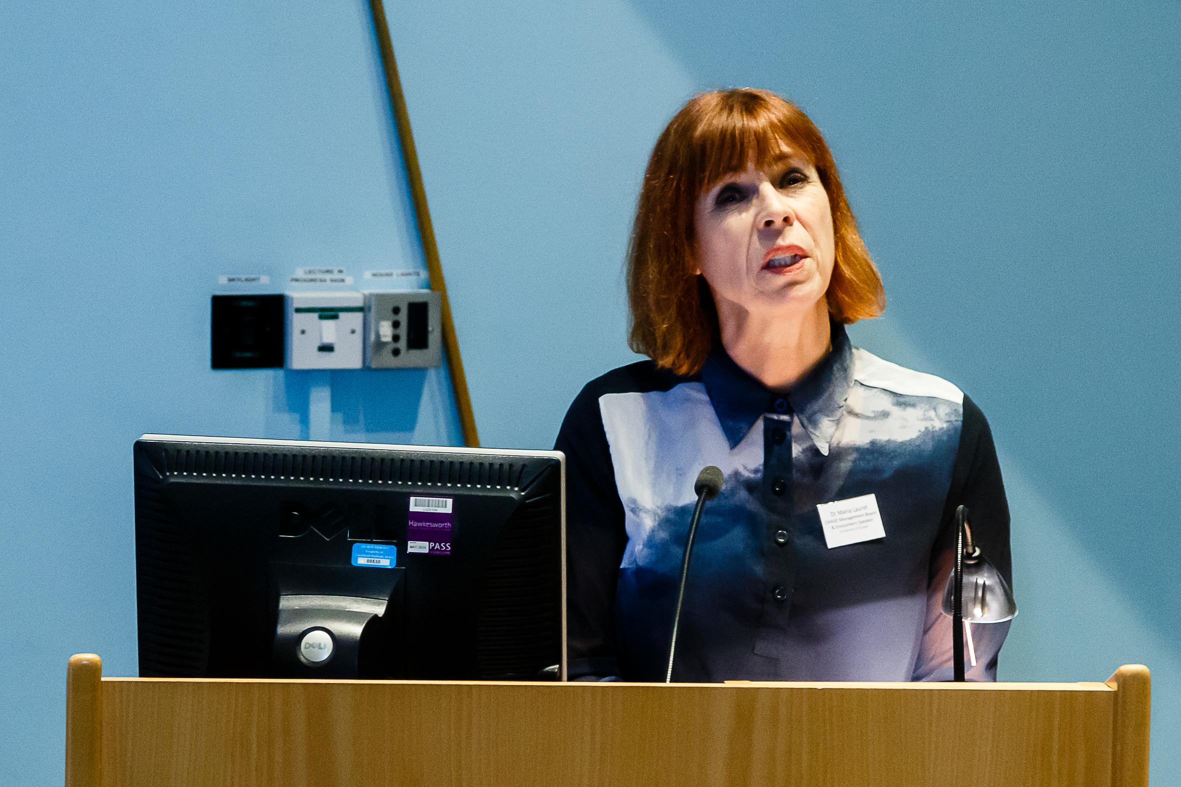Dr Maria Lauret - University of Sussex