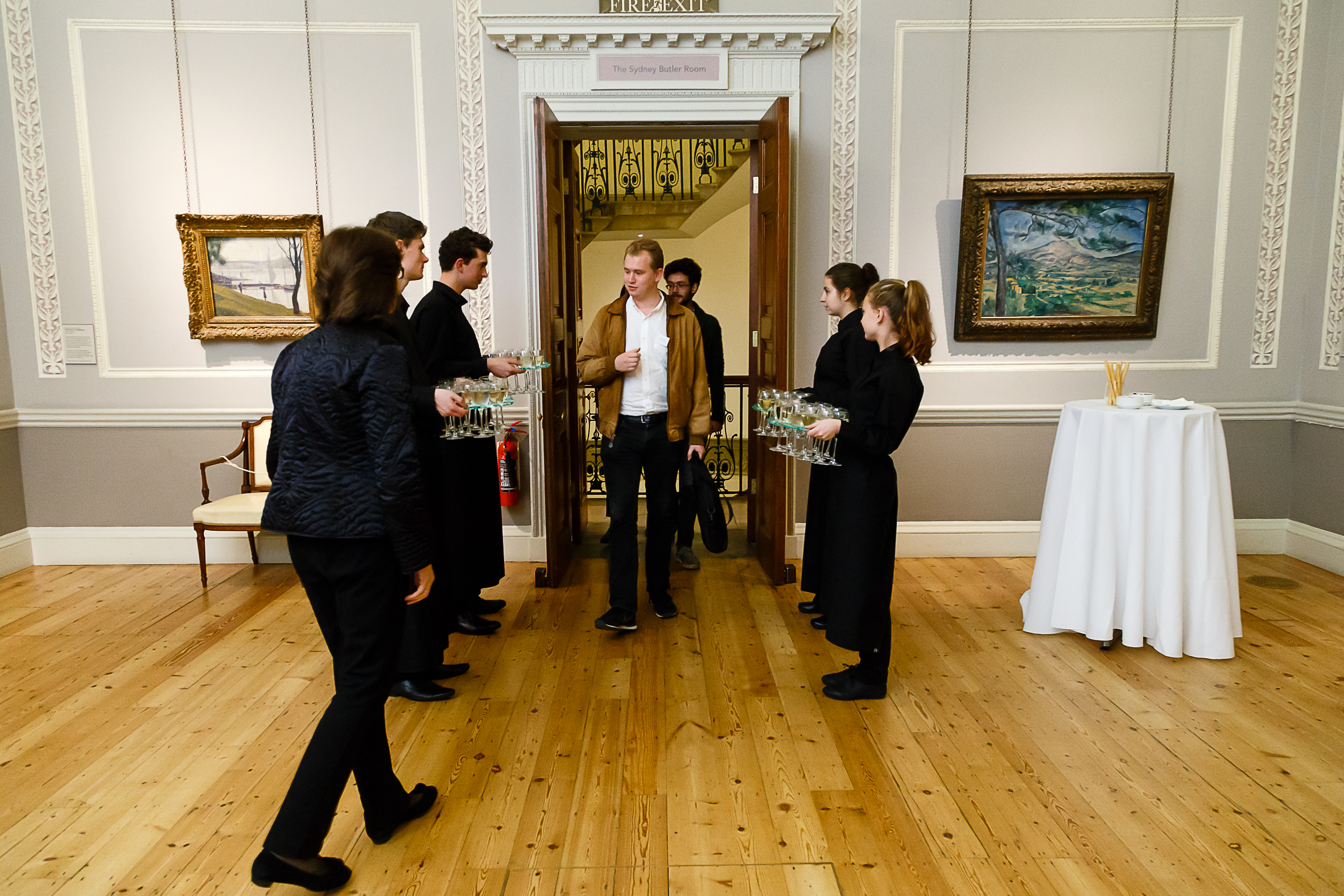 CHASE Encounters Reception in the Courtauld Gallery