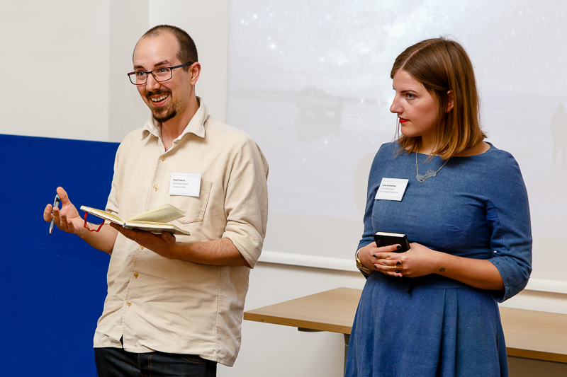 Fred Francis (University of Essex) and Julia Secklehner present their exhibition and related events.