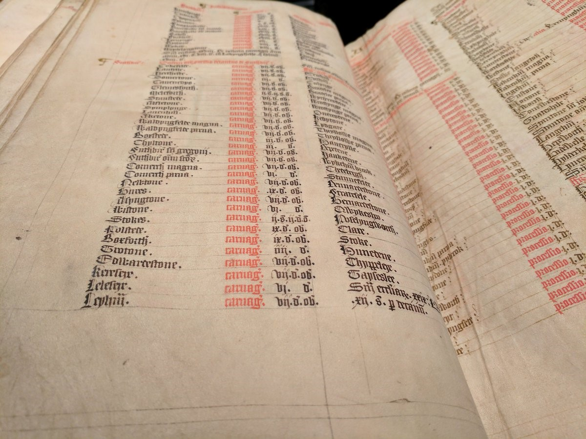 Norwich Domesday MS (15th-century copy of the 13th-century original)