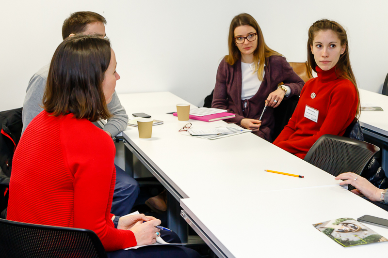 Disciplinary Networking Subject area breakout sessions, led by CHASE students