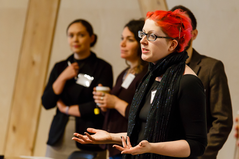 Heather McKnight (University of Sussex), chair of CHASE Student Advisory Group