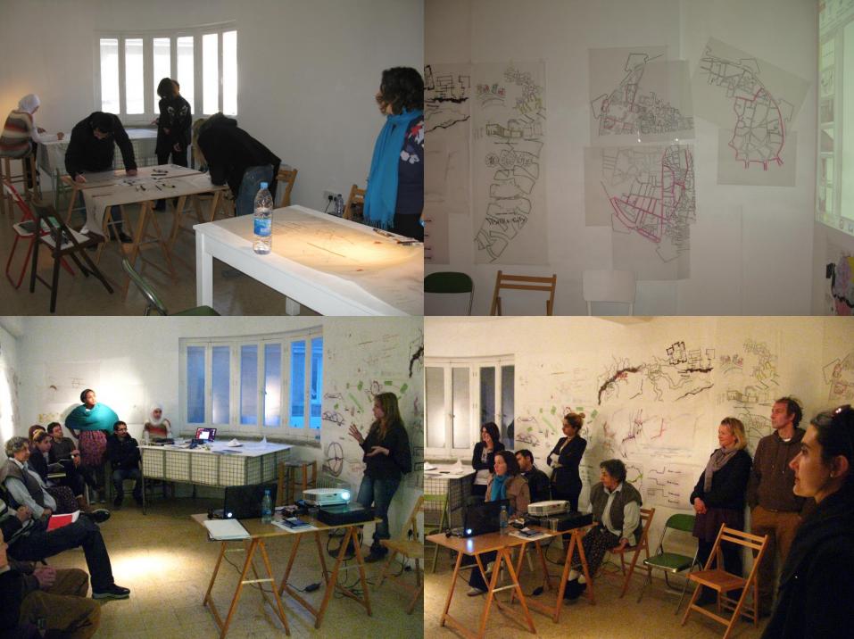 Critical mapping in Nicosia