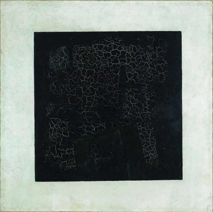 Kazimir Malevich's  Black Square