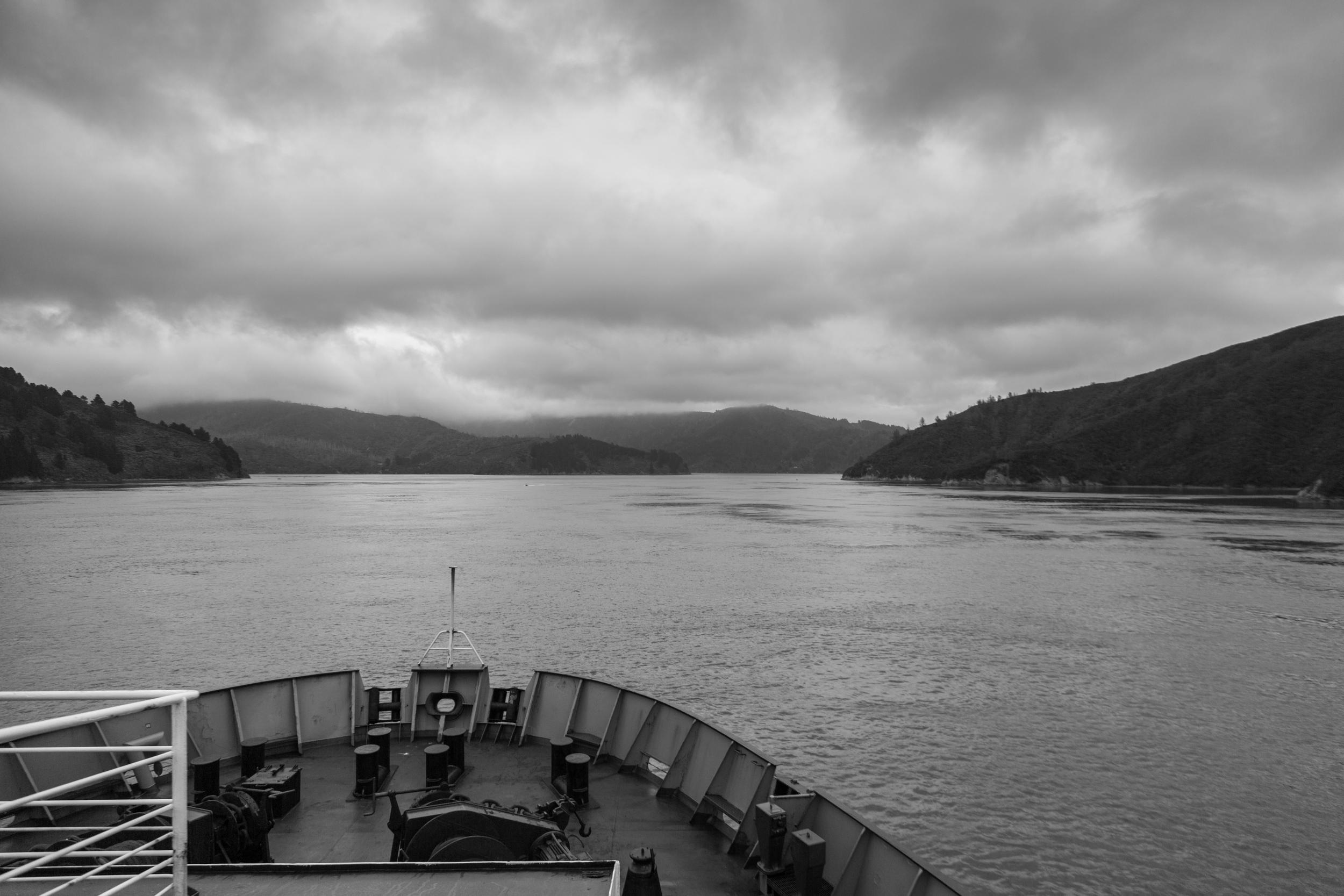 Sailing through the Sounds