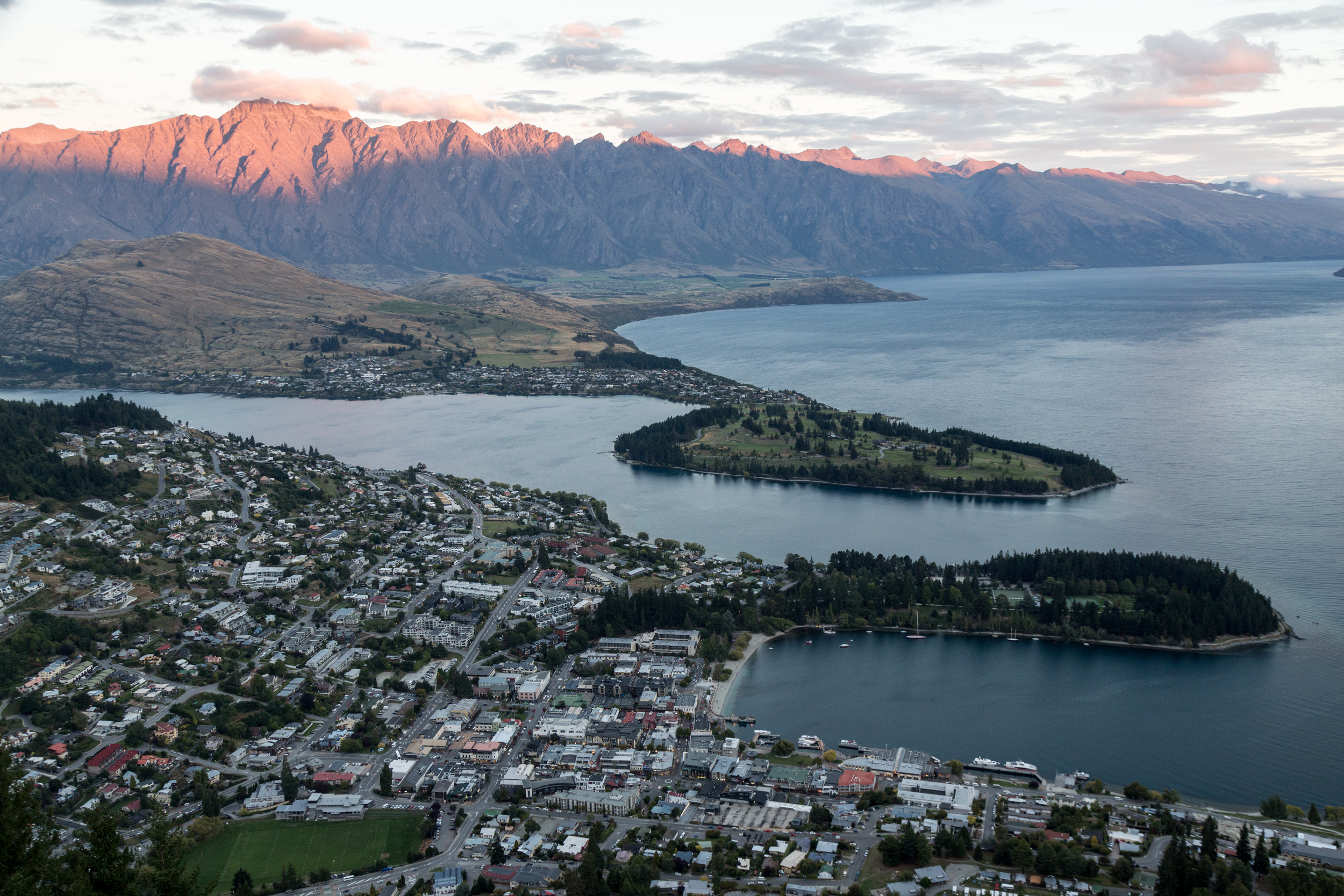 Queenstown at Dusk
