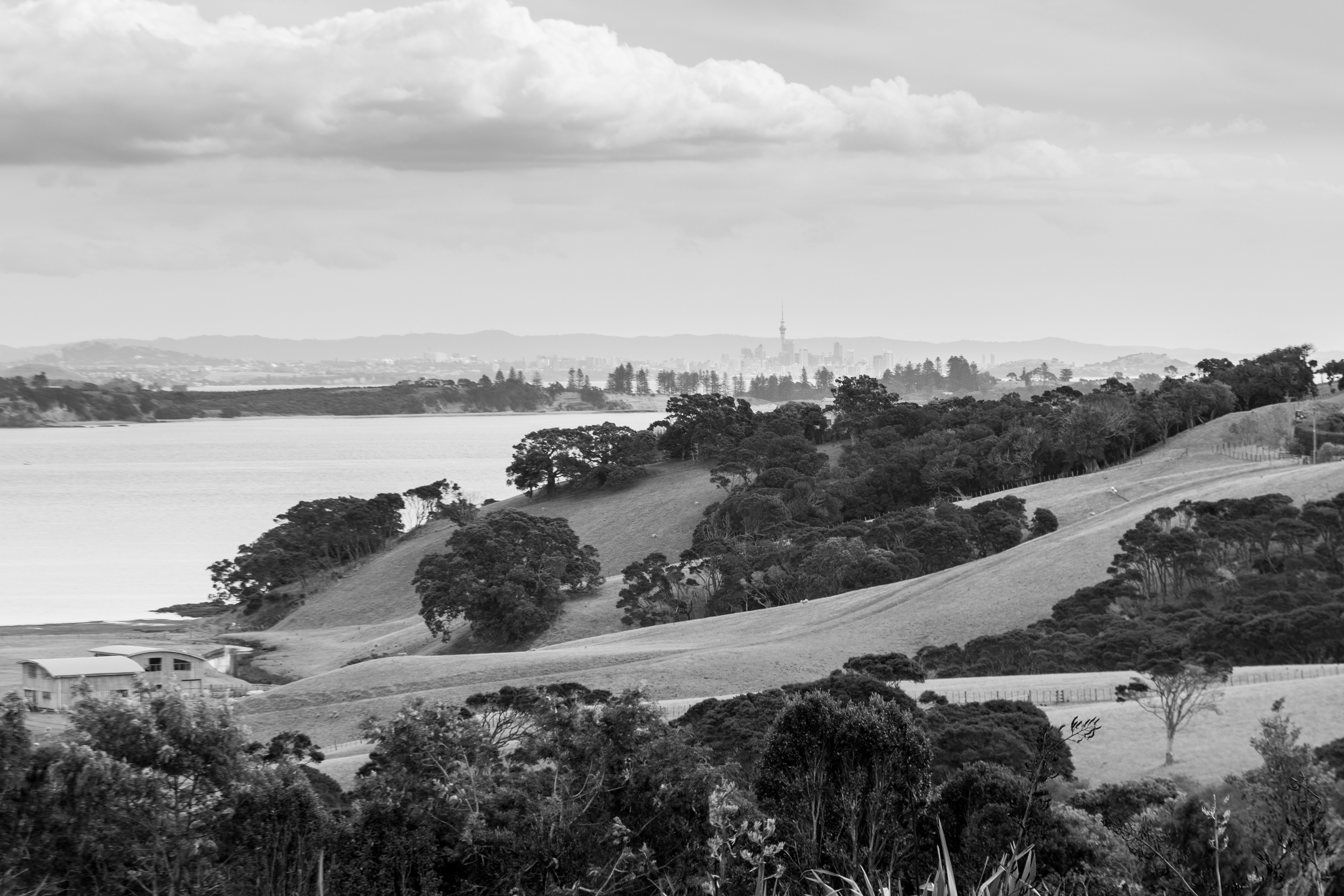 Auckland from Waiheke