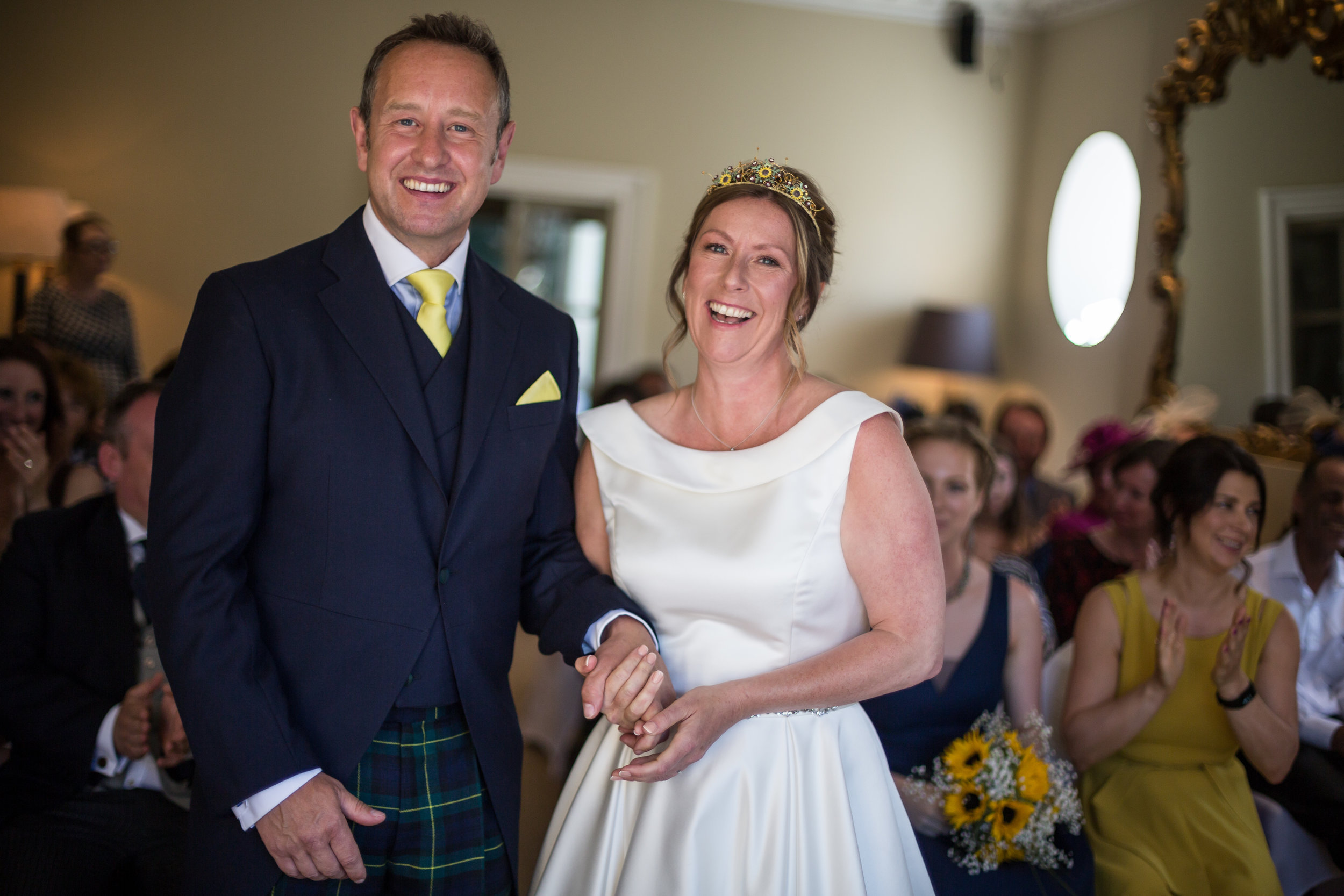 Clair and James' Cotswold wedding.