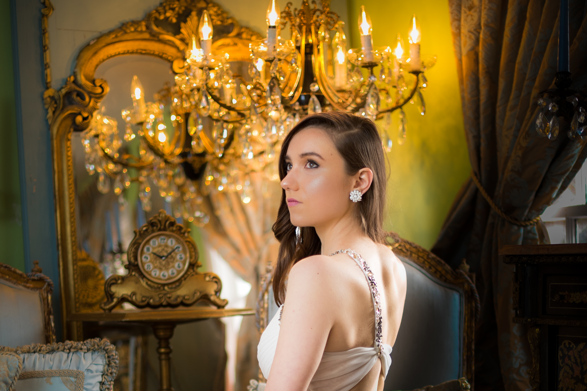 parisian inspired bridal style session